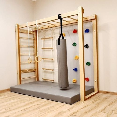 Monkey Bars with Accessories Set