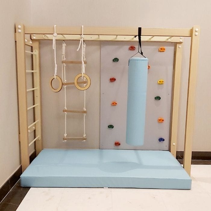 Monkey Bars with Accessories - Turquoise